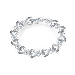 BELEC - Romance Hollow Heart Bracelet