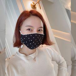 Lemite - Polka-Dot Cotton Mask