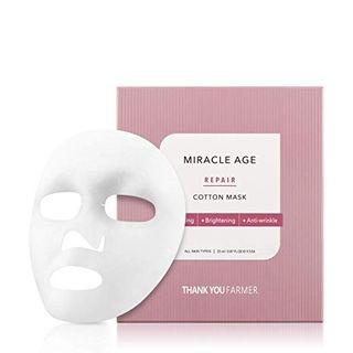 THANK YOU FARMER - Miracle Age Repair Cotton Mask 5pcs