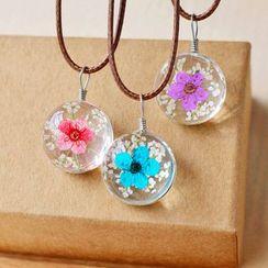 Nisen - Flower Pendant Necklace