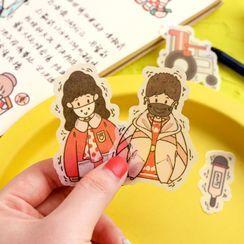 Hekki - Cartoon Sticker
