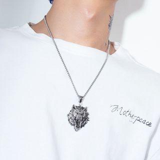 Tenri - Wolf Pendant Necklace