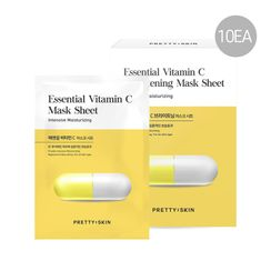 Pretty skin - Essential Vitamin C Brightening Mask Sheet Set