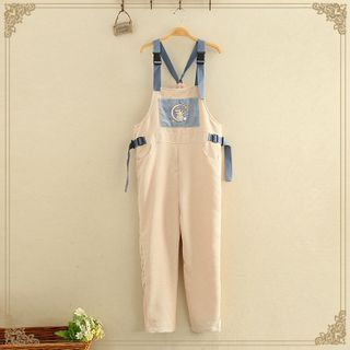 Kawaii Fairyland - Rabbit Printed Jumpsuit