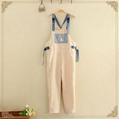 Kawaii Fairyland - Rabbit Printed Jumpsuit