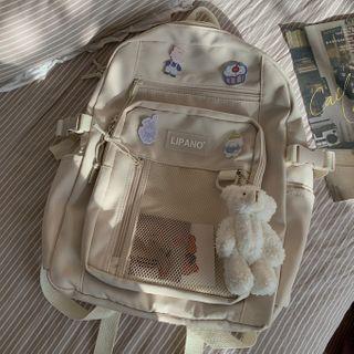 BANGGIRL(バングガール) - Mesh Panel Lightweight Backpack