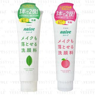 Kracie - Naive Makeup Removal Face Wash 200g - 2 Types