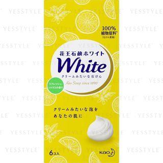 Kao - White Refresh Bath Soap 6 pcs