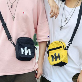 SUNMAN - Print Nylon Crossbody Bag