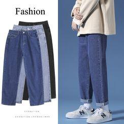 Scherokee - Cropped Straight Leg Jeans