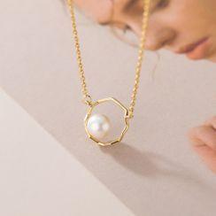 A'ROCH - 純銀仿珍珠項鏈