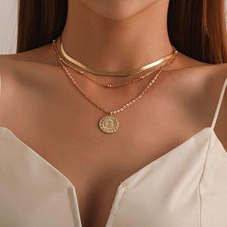 YASIN - Pendant Layered Necklace