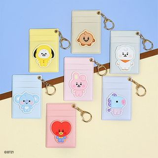BABOSARANG - 'BT21' Illustration Keyring Card Holder