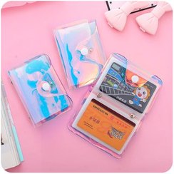 Chimi Chimi - Iridescent PVC Card Wallet