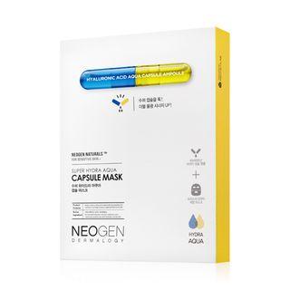 NEOGEN - Mascarilla Dermalogy Super Hydra Aqua Capsule Mask 5uds.