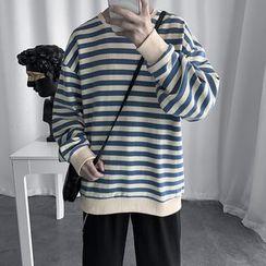 Artistman - Striped Sweatshirt