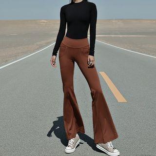 Aramoy - Bell-Bottom Yoga Pants