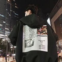 Besto - Printed Hooded Jacket