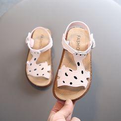 Doradas - Kids Belted Velcro Strap Cartoon Sandals