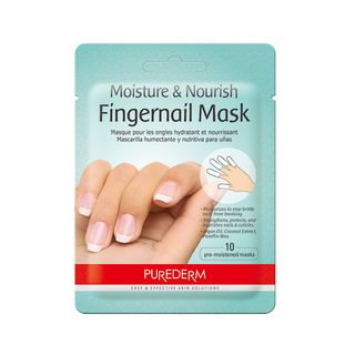 PUREDERM - Moisture & Nourish Fingernail Mask 10pcs