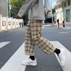 Caprio - Plaid Harem Pants