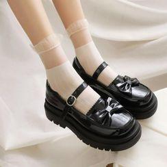Shoes Galore - Platform Mary Jane Shoes