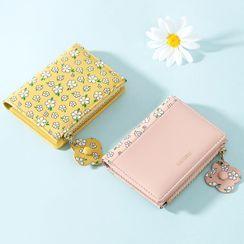 tablarosa - Floral Print Short Wallet