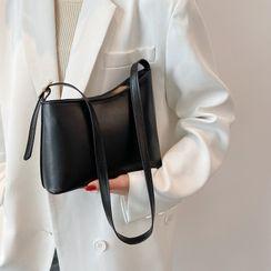 Diamante - Faux Leather Crossbody Bag