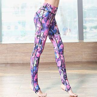 RITMO - 圖案瑜珈褲