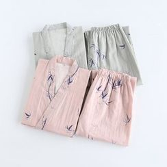 Somnus - Couple Matching Kimono Pajama Set
