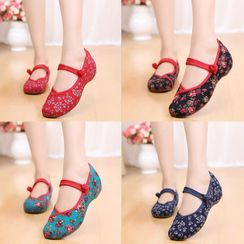 Kyotopia - Chinese Traditional Mary Jane Shoes
