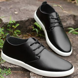 TYCOON - Plain Lace Up Casual Shoes