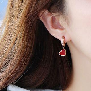 Agape - Heart Pendant Necklace / Earring / Bracelet / Set