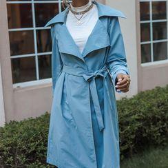 Miss Kani - Plain Trench Coat