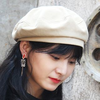 Parafae - 纯色贝雷帽
