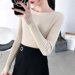 Norte - Ribbed Knit Top