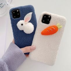 Aion - Chenille Rabbit / Carrot Mobile Case - iPhone 11 Pro Max / 11 Pro / 11 / XS Max / XS / XR / X / 8 / 8 Plus / 7 / 7 Plus