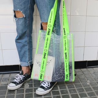 KIITOS(キートス) - Smiley Transparent Tote Bag