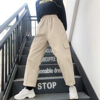 AXEN - Cropped Harem Pants