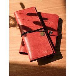DUGA - Faux Leather 3-fold Pencil Case