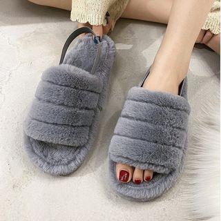 Weiya - Furry Home Slippers