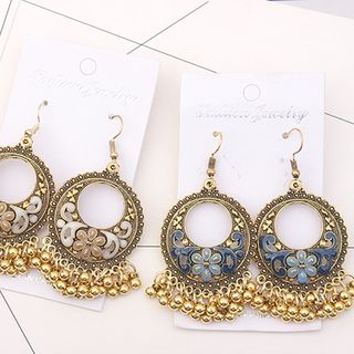 Bling Thing - Circle Chandelier Earring