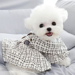 Bixin - Plaid Pet Dress