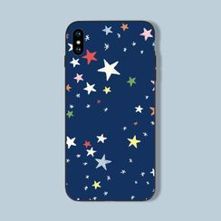 Midnight Lotus - Star Print Mobile Case - iPhone 11 Pro Max / 11 Pro / 11 / XS Max / XS / XR / X / 8 / 8 Plus / 7 / 7 Plus / 6s / 6s Plus