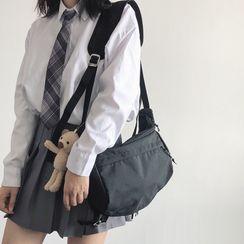 CHIN CHIN - Plain Messenger Bag