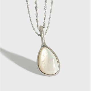 Phoenoa - Shell Pendant Sterling Silver Necklace