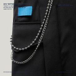 Newin - 金属双层链回形扣