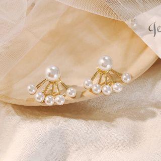 LIVSIA - Faux Pearl Swing Earring