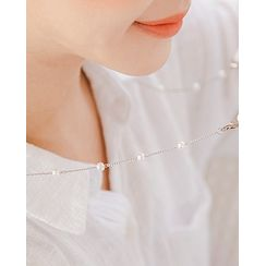 Miss21 Korea - Faux-Pearl Face Mask Strap