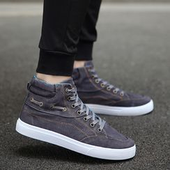 Signore - Denim Canvas Sneakers
